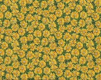 daisies ref744y patchwork fabric