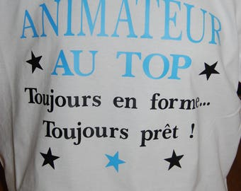 """""""host to the top"""" printed t-shirt"""