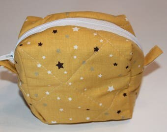 Star quilted coin purse/pouch