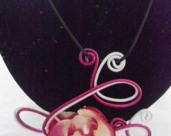 wire auminium pendant 2 colors