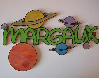 "Door theme ""planets"""