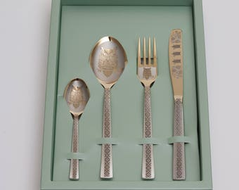 Personalised cutlery set, customised knife, spoon, teaspoon, fork. personalized knife, custom gift, Back to school gift Idea, Engraved knife