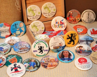 LARGE QUANTITIES BADGES - PROS AND ASSOCIATIONS