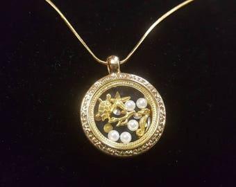 Ocean Theme Charm Necklace