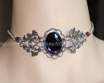 Evanescence Choker Victorian purple Choker necklace Vintage