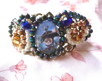 Baroque bracelet with cat: the beautiful Venetian