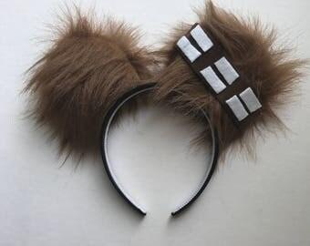 Chewbacca Ears  - Mickey Ears - Disney Ears - Minnie Ears - Star Wars Ears