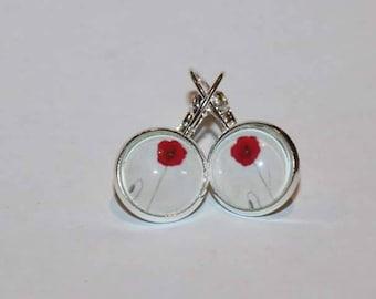 Poppy Stirling Silver earrings