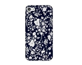 Case for iPhone 4 4s 5 5s 5SE, 5 c, 6, 6 +, 6s, 6, 7, 7 + Liberty Summer Blooms