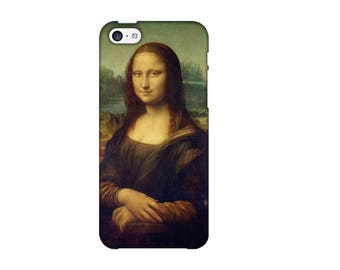 Case for iPhone 4-5-6-7, Mona Lisa