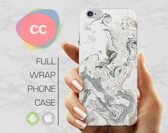 iPhone 8 Case - White Marble Phone Case - iPhone 7 Case - iPhone 6 Case - iPhone 5 Case - iPhone X Case - Samsung S6 Case - PC-305