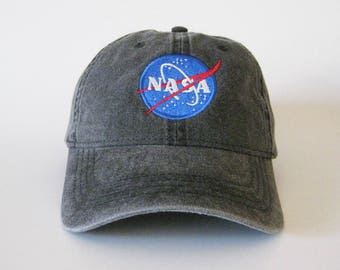 NASA Embroidered Cap Dad cap dad hat dad baseball cap nasa cap nasa hat