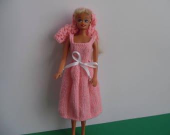 dress up doll pink dress
