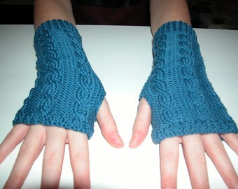 Fingerless gloves for women cotton