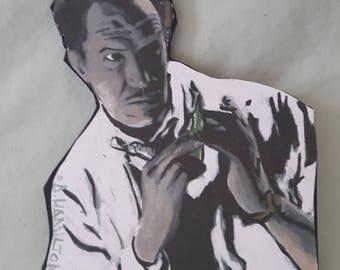 Vincent Price - The Tingler - monochromatic Magnet