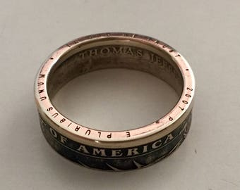 American Coin Ring
