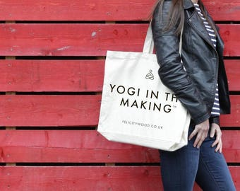 Yogi In The Making® Yoga Tote Bag