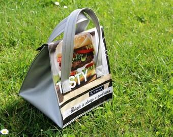 Bag snack or lunch cooler bag - unique