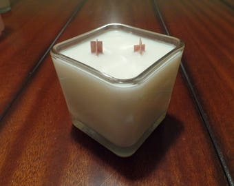 The Author - Wood Wick All Natural Soy Candle