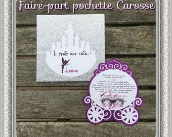 Share pouch Princess carriage