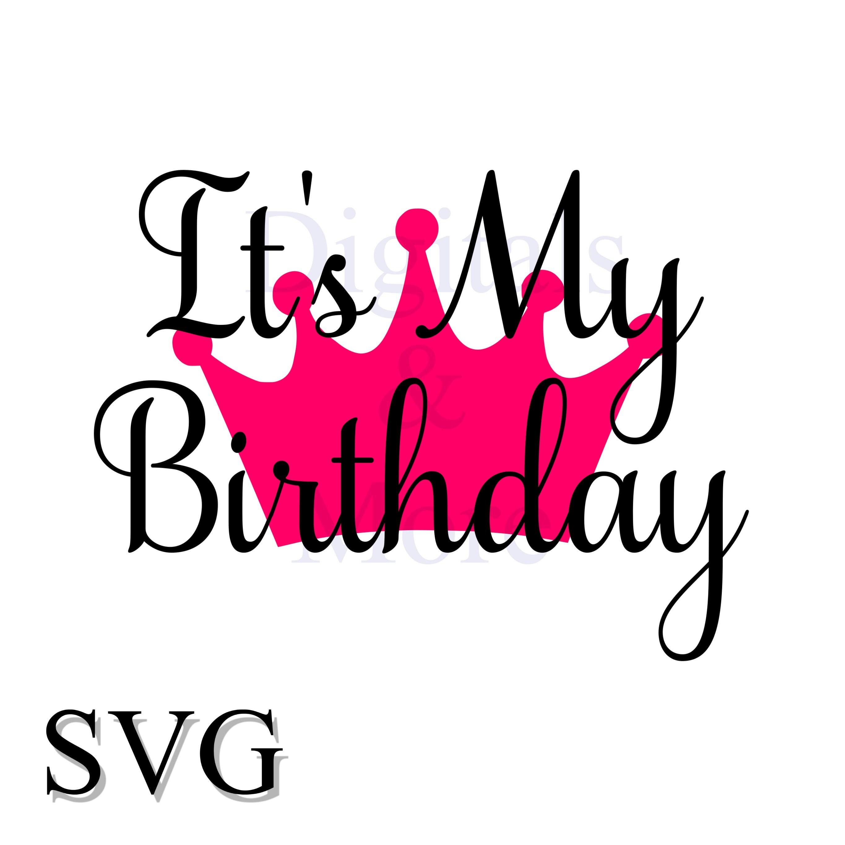 Birthday Crown Svg