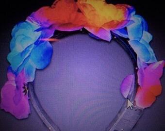 LED Flower headband