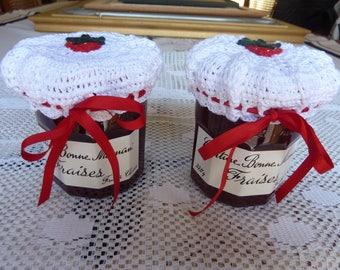 2 charlottes for jam jars