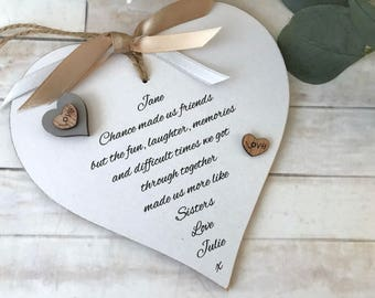 Friendship Heart Gift