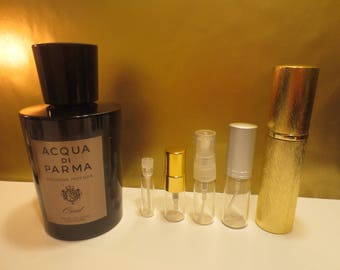 Acqua di Parma - Colonia Intensa Oud 1-10ml travel samples.