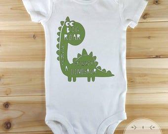 Cute Onesies , Cute Baby Onesies , Big Roar Like A Mighty Dinosaur, Funny Baby Onesie , Baby Girl, Baby Boy , New Baby Gift, Funny Baby Gift