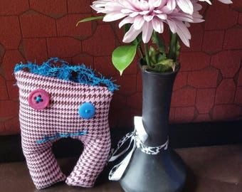 Patsy, monster; handmade; plushie; collectable; gift