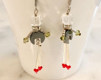 "Earrings ""Robots dolls"""