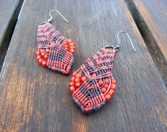 Macramé Tribal Earrings