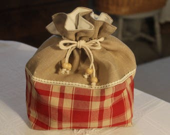 country style pastries bag