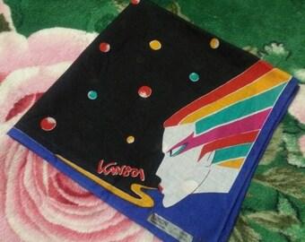 Vintage KANSAI YAMAMOTO Design Art Handkercief/Bandana