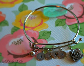 Mommy ~ Charm ~ Bangle ~ Made to Order