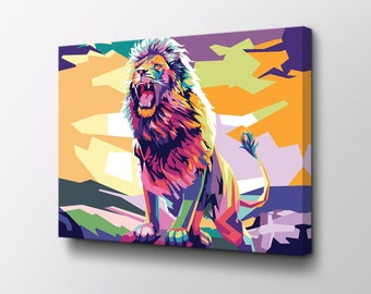 Canvas Painting Etsy