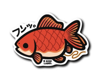 Fish Japanese Kawaii Sticker!!