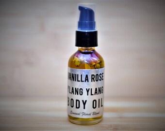 Vanilla Rose Ylang Ylang Body Oil