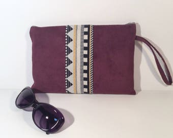 Flo Burgundy strap with pouch