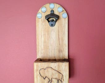 Handmade Buffalo Nickle Bottle-Opener (can be personalized)
