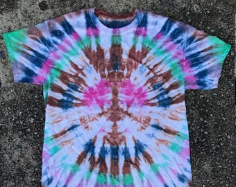 Peace Sign Homegrown Tie Dye