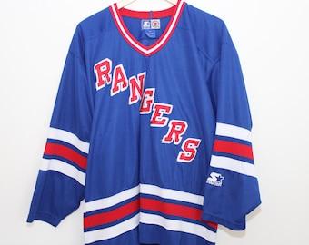 Starter New York Rangers NHL Hockey Jersey - (Large)