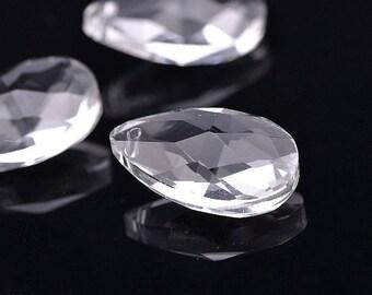 Swarovski Crystal Teardrop Pendant crystal drop Pendant (L22) 22x13mm