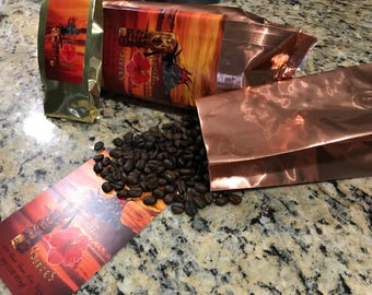 100% Kona Coffee Medium Dark Roast whole bean