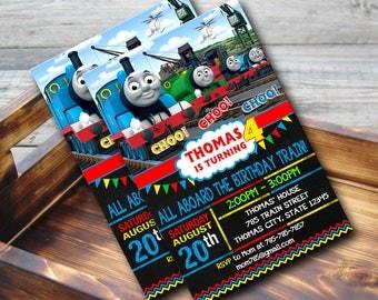 Thomas The Train Invitation,Thomas The Train Birthday,Thomas The Train Birthday Invitation,Thomas The Train Party,Thomas The Train-424