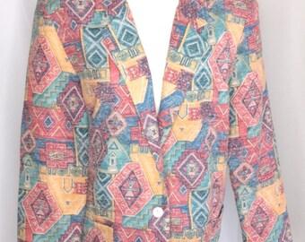 Vintage Aztec Print Blaze size 12