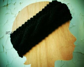 Head-band woman 100% wool Oeko - Tex®