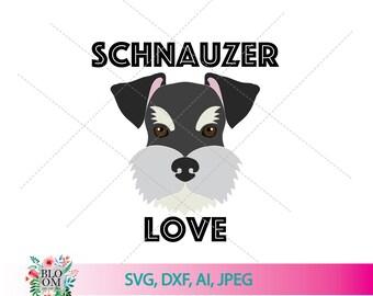Schnauzer Love