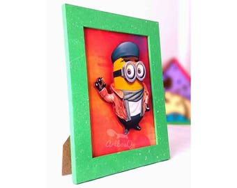 Despicable minions frame